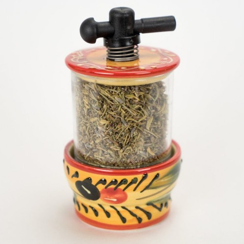 Orange Pier Olive Dry Herb Mill