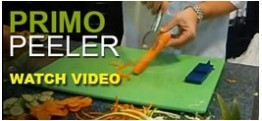The Gourmet Grater- Primo Peeler Demo